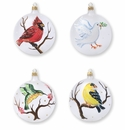 Vietri Ornaments Birds Assorted Ornaments - Set of 4
