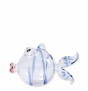 Vietri Ornaments Blue Fish Ornament