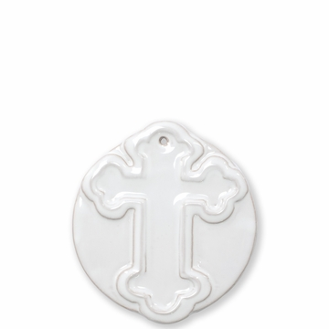 Vietri Ornaments Decorative Cross Ornament
