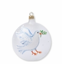 Vietri Ornaments Dove Ornament