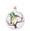 Vietri Ornaments Hummingbird Ornament