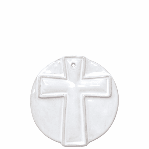 Vietri Ornaments Simple Cross Ornament