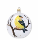 Vietri Ornaments Yellow Finch Ornament