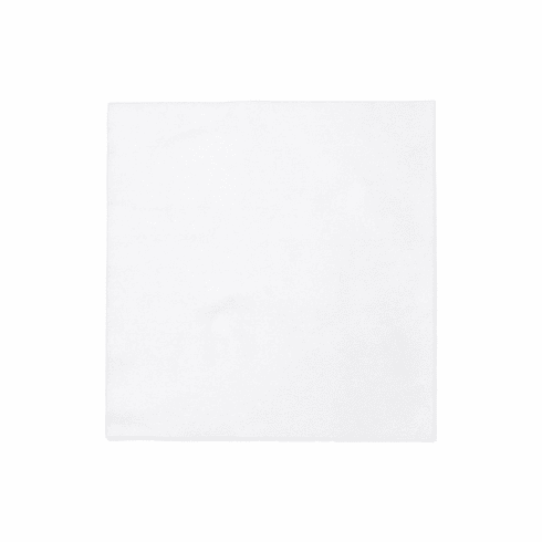 VIETRI Papersoft Napkins Bianco Solid Dinner Napkins (Pack of 20)