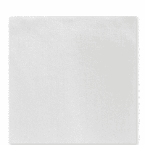 Vietri Papersoft Napkins Bianco Solid Dinner Napkins (Pack of 50)