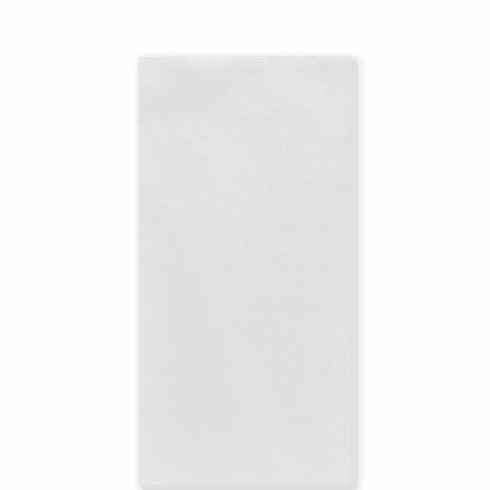 Vietri Papersoft Napkins Bianco Solid Guest Towels (Pack of 50)