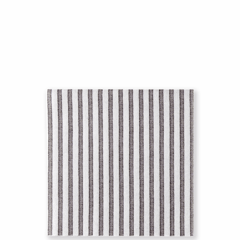 Vietri Papersoft Napkins Capri Gray Cocktail Napkins (Pack of 20)