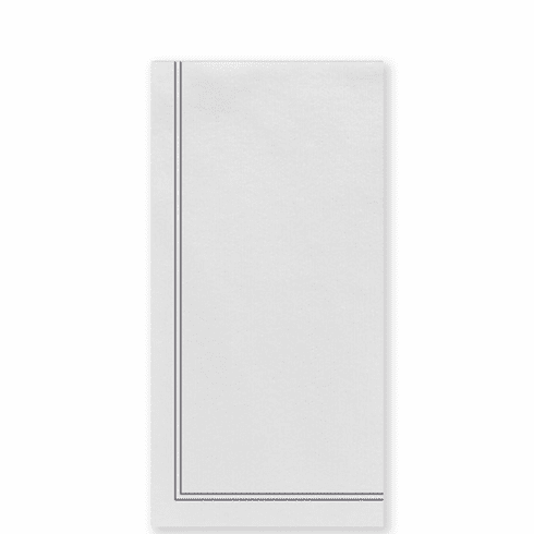 Vietri Papersoft Napkins Linea Gray Guest Towels (Pack of 50)