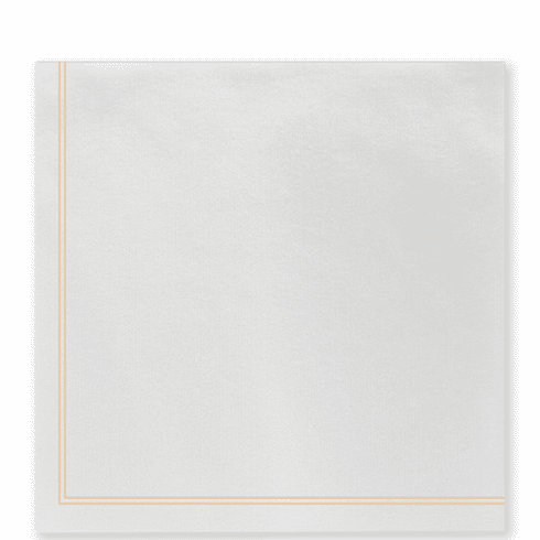 Vietri Papersoft Napkins Linea Yellow Dinner Napkins (Pack of 50)