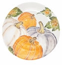 Vietri Pumpkins Large Serving Bowl with Assorted Pumpkins