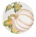 Vietri Pumpkins Round Platter with Pumpkin