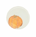 Vietri Pumpkins Salad Plate - Orange Small Pumpkin