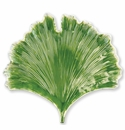 Vietri Reactive Leaves Ginkgo Leaf Plate