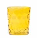 Vietri Recycled Prism Amber Double Old Fashioned