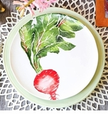 Vietri Spring Vegetables Accent Dinnerware
