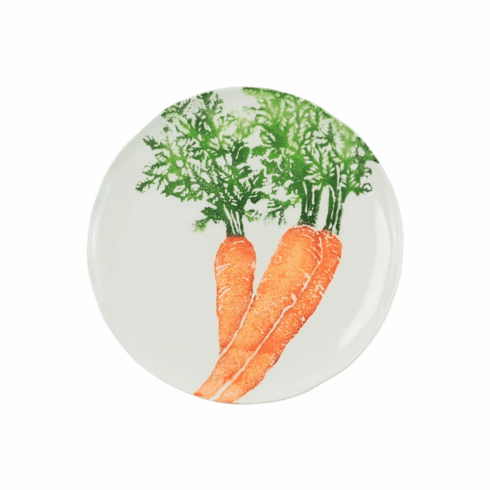 Vietri Spring Vegetables Carrot Salad Plate