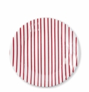 Vietri Stripe Red Dinner Plate