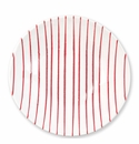 Vietri Stripe Red Medium Serving Bowl