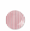 Vietri Stripe Red Salad Plate