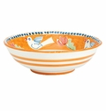 Vietri Campagna Uccello (Bird) Large Serving Bowl