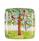 Vietri Wall Plates Birds Square Wall Plate