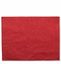 Vietri Washable Paper Placemats Red Placemats - Set of 4