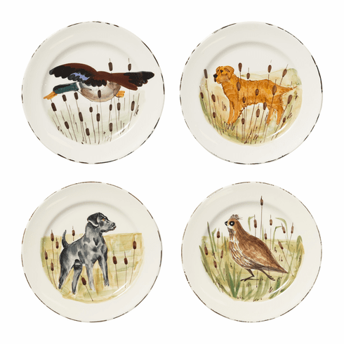 Vietri Wildlife Assorted Dinner Plates