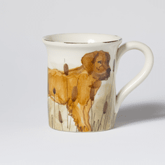 Vietri Wildlife Hunting Dog 14oz Mug