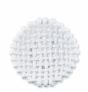 Vietri Woven Baskets White Small Basket