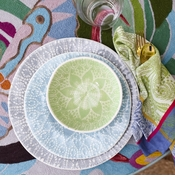 VIVA Vietri Lace & Stripe Dinnerware Collections
