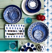 Viva Vietri Santorini Dinnerware Collection