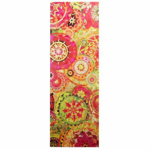 Wall Art Pink And Yellow by Stylecraft
