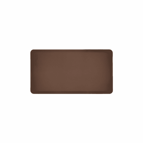 WellnessMats 48 in. Yoga Mat Brown