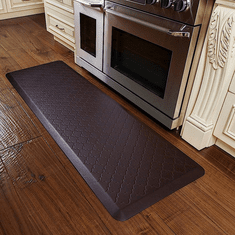 WellnessMats 6x2 Trellis Coconut