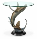 Whale End Table by SPI Home