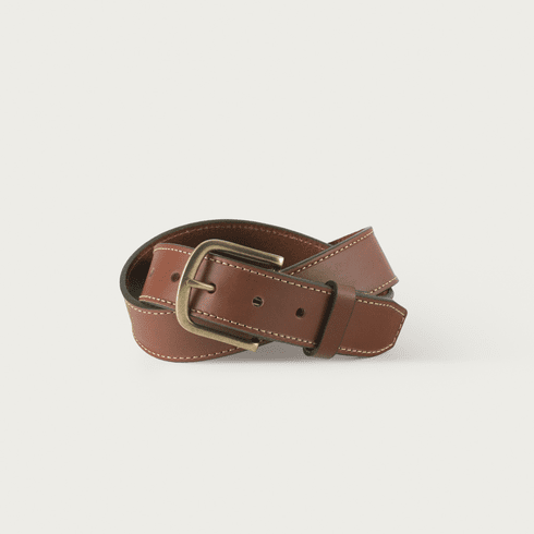 White Wing Men's Leather Belt