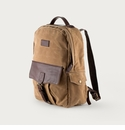 White Wing Waxed Canvas Backpack