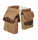 White Wing Waxed Canvas Game Bag Set (Belt Not Included)