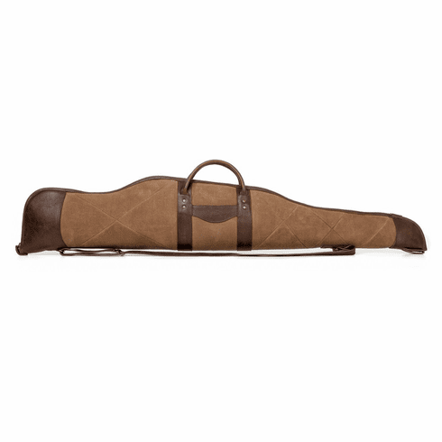 White Wing Waxed Canvas & Leather Rifle Case