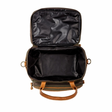White Wing Waxed Canvas Scout Cooler