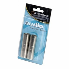 ACCU-CABLE AXLRC3PMM MALE XLR to MALE XLR ADAPTER (2)
