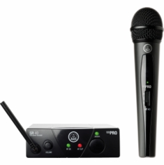 AKG PRO WMS40 Mini Vocal Set BD US45A Wireless Microphone System 40 Mini