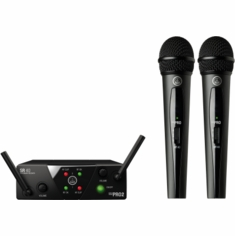 AKG PRO WMS40 Mini2 Vocal Set BD US45A/C EU/US/UK Wireless Microphone System 40 Mini2
