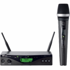 AKG PRO WMS470 D5 SET BD8 50mW - EU/US/UK Wireless Microphone System 470