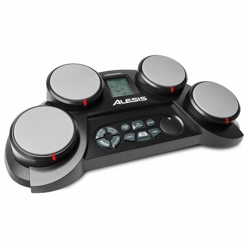 ALESIS Compact Kit 4 4-Pad Portable Tabletop Drum Kit
