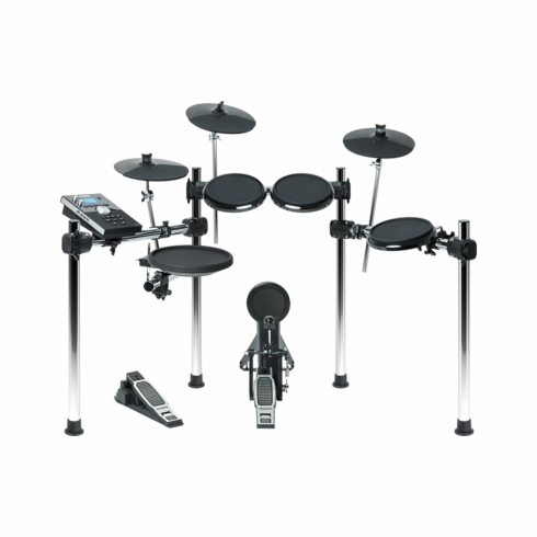 ALESIS Forge Eight-Piece Drum Kit with Forge Drum Module