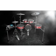 ALESIS Strike Zone Kit Eight-Piece Professional Electronic Drum Kit with Mesh Heads