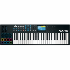 ALESIS VX49 49-Key USB/MIDI Controller with Full-Color Screen