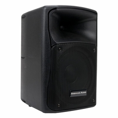 """AMERICAN DJ ELS-GO 8BT 8"""" Battery Powered/Rechargable 2 way speaker. XLR Mic & Line Inputs. Bass & Treble Controls. Stand Mountable. USB and SD Card Inputs."""