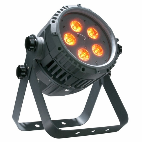 AMERICAN DJ WIFLY QA5 IP Oudoor IP65 rated LED par with 5 x 5 watt QUAD RGBA LED, built-in WiFly technology